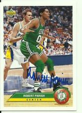 ROBERT PARISH AUTOGRAPHED BOSTON CELTICS CARD