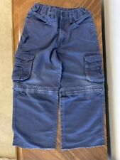 Cub scout official uniform navy convertible pants/shorts youth boys size 6
