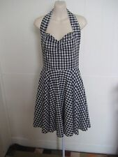 REVIVAL 50´s Retro Styled 100% Cotton Dress Sz 8