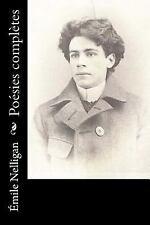 Poésies Complètes by Émile Nelligan (2016, Paperback)