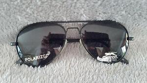 Brand New Slazenger Sunglasses-polarised- ex-shop display stock- ozoptics sides