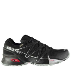 SALOMON Mens Black Speedcross Vario 2 Running Shoes Trainers UK 9.5 BRAND NEW