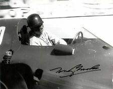 Tony Brooks Vanwall Monaco Grand Prix 1957 Signed Photograph
