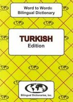 English-Turkish  Turkish-English Word-to-Word Dictionary