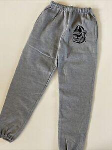 Georgia Bulldogs Youth Medium Russell Athletic Logo Sweatpants Gray NEW Soft