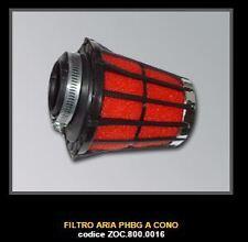 MINIMOTO ZOCCHI MALOSSI Filtre Air Cone Droit PHBG d34mm  ZOC 800.0016