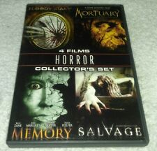 Salvage/Mortuary/Memory/Bloody Mary DVD *HORROR