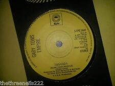 "VINYL 7"" SINGLE - 7-6-5-4-3-2-1 BLOW YOUR WHISTLE - GARY TOMS EMPIRE - EPC3441"