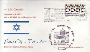 4032+ CONCORDE  VOL PARIS TEL AVIV