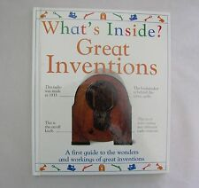 WHAT'S INSIDE? GREAT INVENTIONS Hardback Book DK from England Guide to Invention