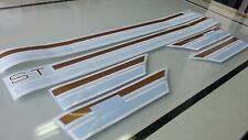 TOYOTA Celica TA22, TA23 RA22, RA23 ST or GT Side Stripes Stickers Label