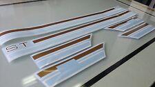 TOYOTA Celica TA22, TA23 RA22, RA23 ST or GT Side Stripes Stickers Label