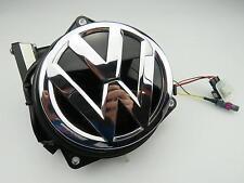 Cámara de visión trasera Rear View Camera originales de VW Golf VII 7 emblema 5g0827469f cromo