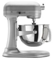 KitchenAid 6-Quart Pro 600 Bowl-Lift Stand Mixer | Nickel Pearl