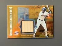 2002 Topps Gold Label Tony Gwynn Game Bat Relic Class 1 Gold Padres HOF