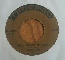 Lancers, The ‎– Stop Chasin' Me Baby / Peggy O'Neil