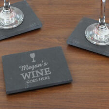 Unbranded Slate Square Coasters