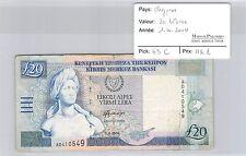 BILLET CHYPRE - 20 LIVRES - 1.4.2004