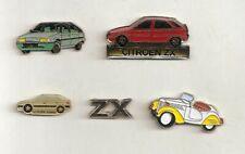 5x CITROEN - Pin * ZX Xsara BX * Pin-Set * Automobile *