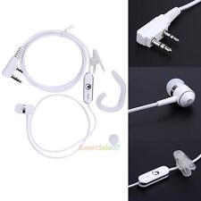 2Pin Sports Earpiece Headset Earbud PTT Mic for BAOFENG Kenwood Radios Security