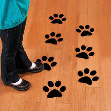 Paw Stickers for Walls Vans Cars and Glass (safety Stickers) 22 Colours Avail. Large Dark Red