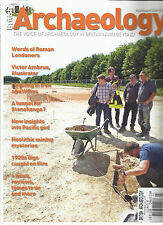 BRITISH ARCHAEOLOGY MAGAZINE  JULY / AUGUST, 2016  THE VOICE OF ARCHAEOLOGY IN