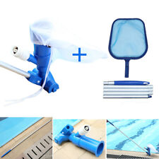 Swimming Pool Vacuum Head Brush Maintenance Cleaning Tools Parts 118cm Hose