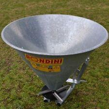 Fertiliser Fertilizer Seed Spreader GALVANISED  480kg    -MADE IN ITALY-