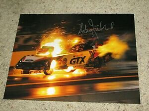 ASHLEY FORCE NHRA DRIIVER SIGNED 11X14 PHOTO coa ,john force courtney force