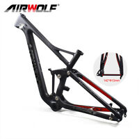 "19"" Suspension MTB Fahrradrahmen 29er 2.4'' Enduro Carbon Mountain Frameset"