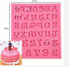 Silicone Alphabet Letters Mold Fondant Chocolate Sugar Mould Cake Decorating