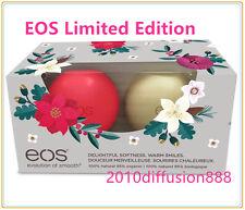 EOS 2016 Limited Edition Lip Balm Winterberry & Vanilla Bean Gift Set ( 2 Pack )