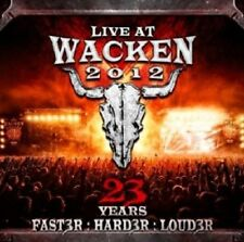 LIVE AT WACKEN 2012-23 YEARS(FASTER:HARDER:LOUDER) 2 CD NEU