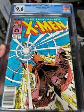WOW! Marvel The Uncanny X-MEN #221 CGC 9.6 - 1st appearance Mr. Sinister