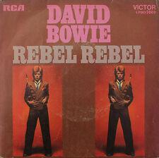 "Vinyle 45T David Bowie ""Rebel rebel"""