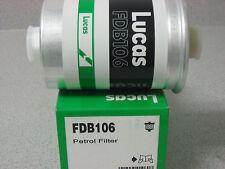 Lucas Fuel Filter FDB106 for Jaguar XJ6 & Vanden Plas 88-90 - CAC9630