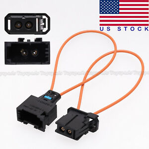MOST fiber optic loop bypass MALE & FEMALE kit adapter For MERCEDES BMW AUDI NEW