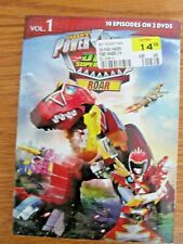 Power Rangers Dino Super Charge Roar Dvd  (NEW)