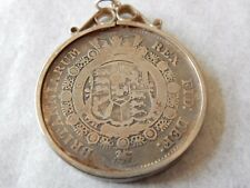 objets de vertu  GEORGE III  COIN  AS A PENDANT  1816  LATER MOUNT MARKED SILVER