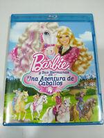 Barbie Y sus Sisters Una Aventure de Chevaux - Blu-Ray Espagnol Anglais