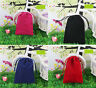 "10 pcs Large 7.5""x10"" Velvet Bags Jewelry Wedding Party Gift Drawstring Pouches"