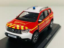NOREV Dacia Duster 2018 - Pompiers Chef de Groupe Échelle 1:43 Voiture Miniature (509012)
