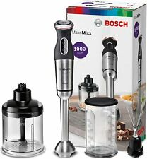 Bosch MSM89160 Maxomixx Blender Hand, With 3 Accessories, 1000 W, 12 Speed