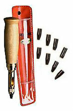 AITOH The REAL Japanese Screw Punch Drill w/9 Bits 1.0,1.5,2,2.5,3,3.5,4,4.5,5