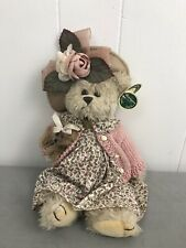 """14"""" Bearington Collection Daisy & Belle Stuffed Animal Teddy Bear Pre Owned Tags"""