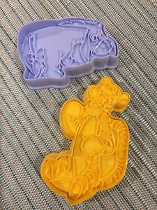 Tigger and Eeyore Cutters Disney Biscuit Cookie Pastry Cutter Cake Baking