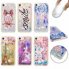 NEW Cute Quicksand Glitter Liquid Dynamic Flowing Case Cover #