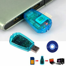 USB SIM Card Reader Writer Clone Copier Backup Adapter All Sim Cards GSM 3G KY