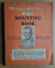 Vintage Scrapbook 1930's Uncle Dudley-Funny Fold ups Comics-Flags-Johnny Gruelle