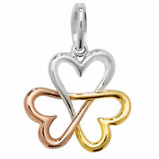 Sterling Silver Love Hearts Fine Pendants